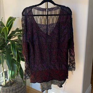 Free People high-low Sweater